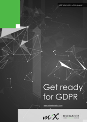 Get ready for GDPR